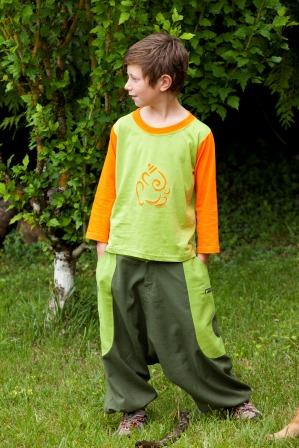 Sarouel pantalon pour enfant