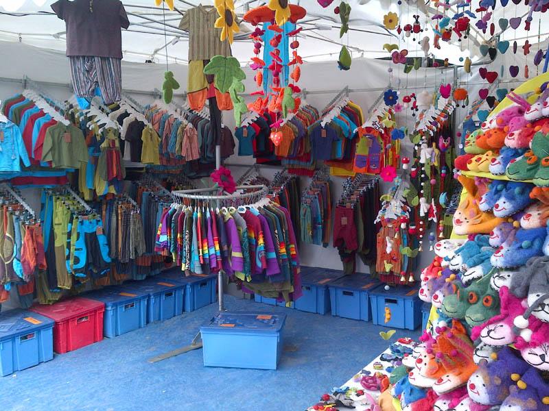 Vêtements enfants festival