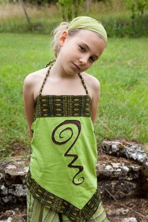 Tunique ethnique enfant