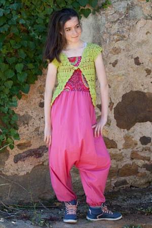 Robes sarouel pour fille